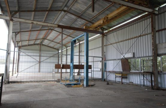 UNDER CONTRACT &#8211&#x3B; Industrial Shed &#038&#x3B; Land